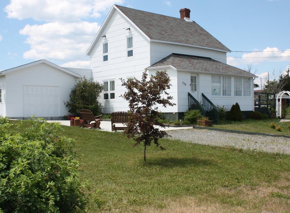 Le Dispensaire de la garde de La Corne, en Abitibi, où Gertrude Duchemin a vécu et a exercé son métier d'infirmière pendant plus de 40 ans a été transformée en musée en 1996.