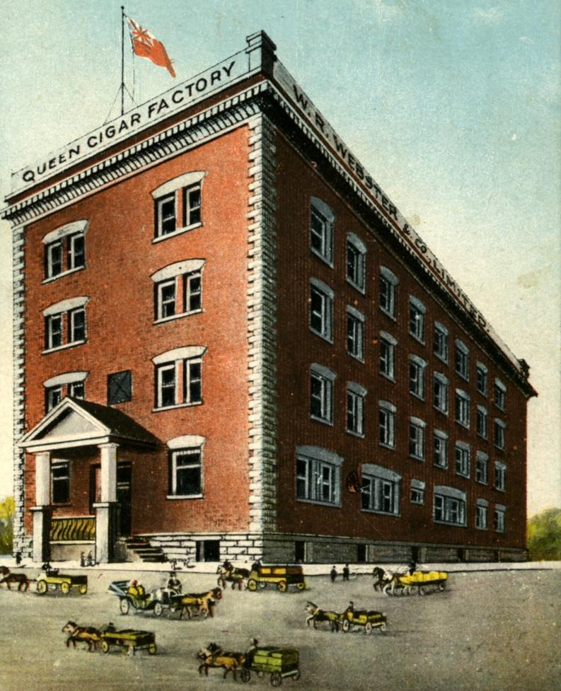 Fabrique de cigares de la W. R. Webster & Co, Limited à Sherbrooke