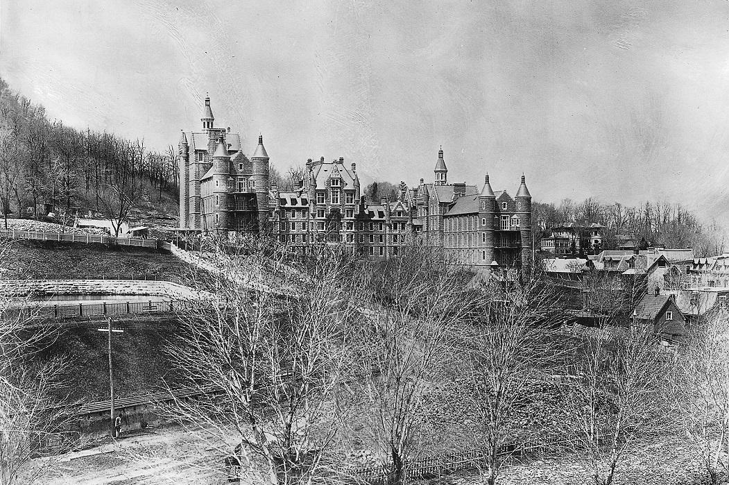 Hôpital Royal-Victoria de Montréal construit en 1893