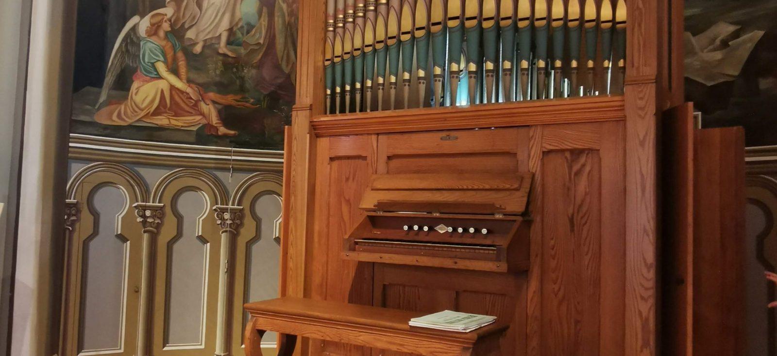 L'Opus 9 a retrouvé son lustre d'antan et occupe une place de choix dans la chapelle de la maison mère des Adoratrices du Précieux-Sang, à Saint-Hyacinthe.